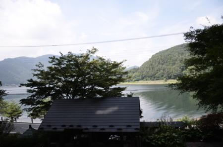四季帖から見る河口湖