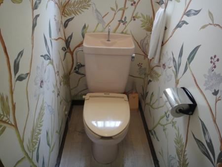 トイレはすべて洋式5か所完備
