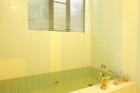 内風呂も専用バスタブでペットも入浴OK