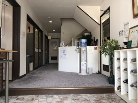 当館の玄関・ロビー