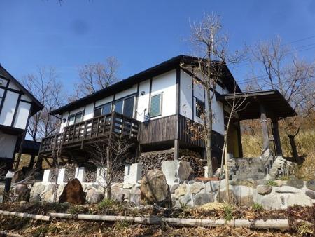 和風ハウス。古民家風の建物です。