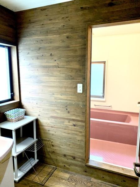 脱衣室と洗面所