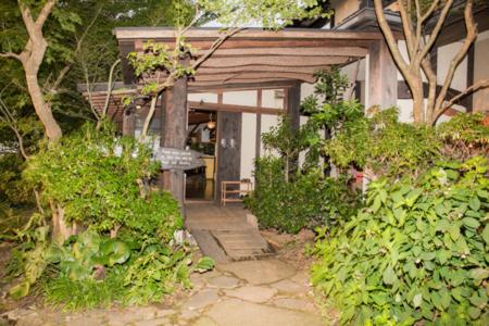 風香山荘の入り口