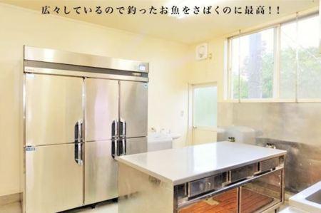 プロ仕様の本格的なキッチン