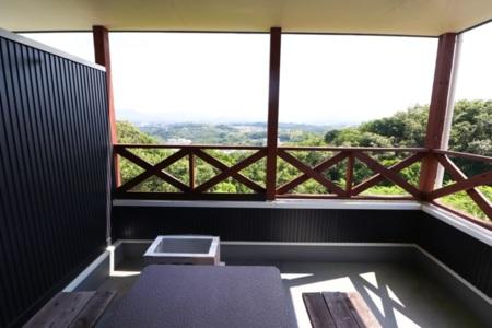 別荘からの景観