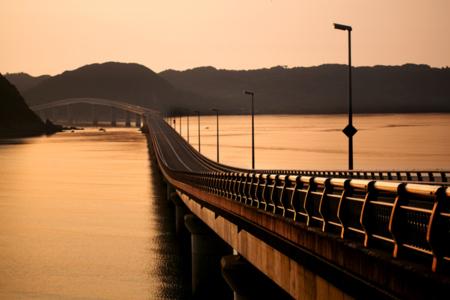 角島大橋も歩いてすぐ