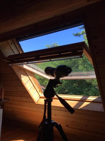 2f寝室の天窓