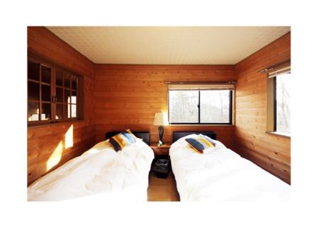 2階の洋室(ツイン)×2部屋
