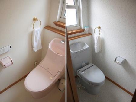 トイレは1F、2F合計4ヶ所