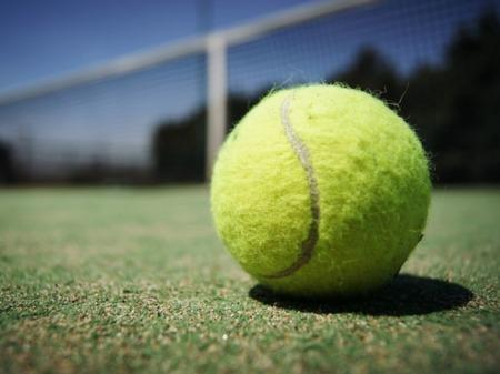 近隣にはテニスコートも