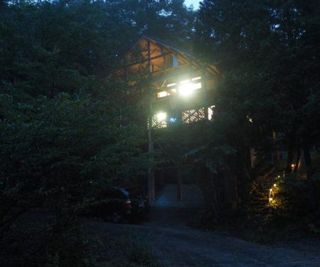 真夏でも夜は涼しい北広島町大朝。