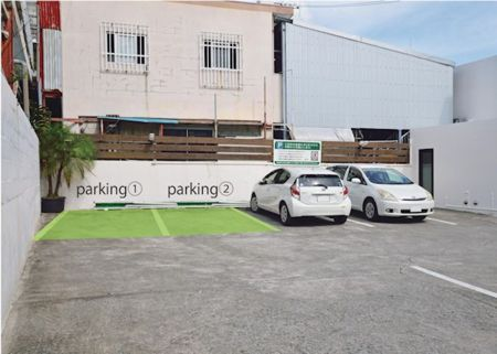 こちらが駐車スペースになります。