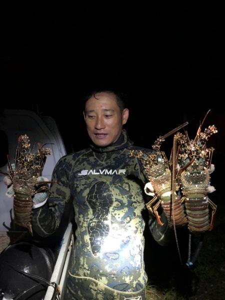 素潜り漁師の海鮮バーベキュー