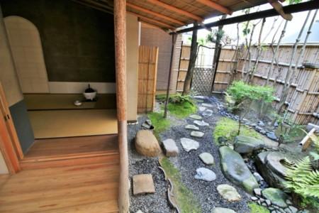茶道体験用お庭とお茶室※オプション