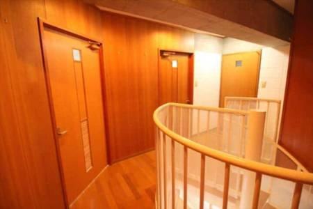 寝室C ダブルベッド、2段ベッド
