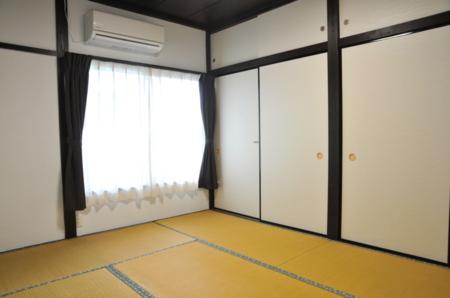 畳部屋6畳個室エアコン付き