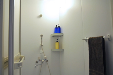 浴室にはシャンプー等のアメニティー付き