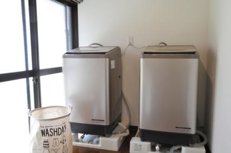 洗濯機2台、洗剤付き