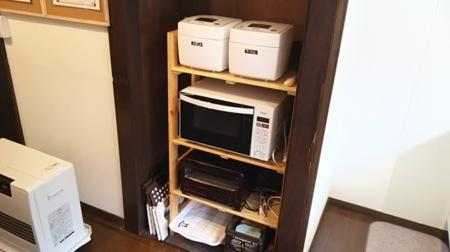 調理器具や食器類も沢山あります