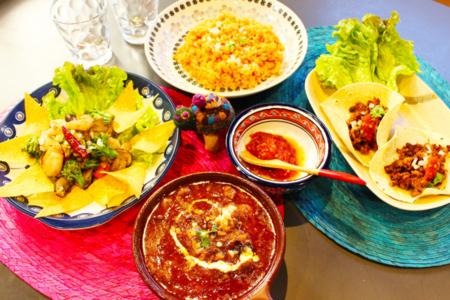 メキシコ料理ケータリングございます
