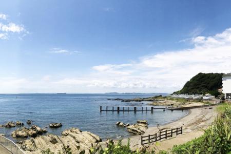 目の前は海!磯遊びやお散歩も楽しめます