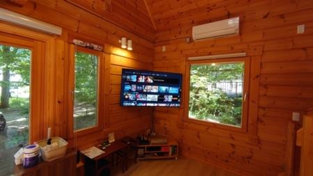 大型4Kスマートテレビ♪