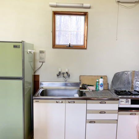 キッチン棟のキッチンセット