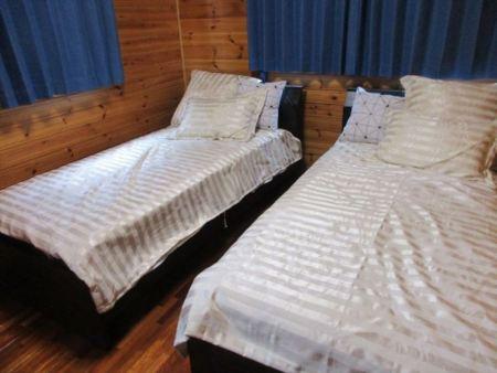 1階のツインベッド
