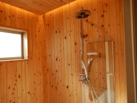 浴室大型シャワー設備
