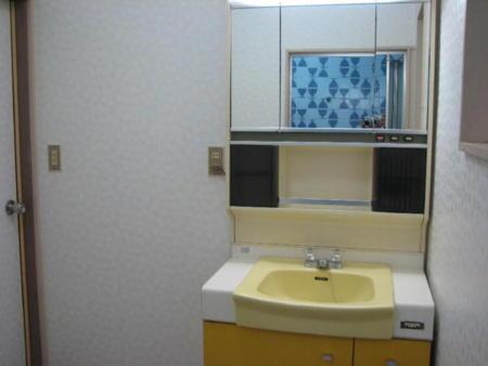 1階2階に洗面化粧台が完備。ドライヤー有
