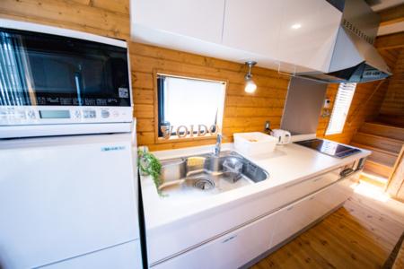 綺麗なIT対応キッチン