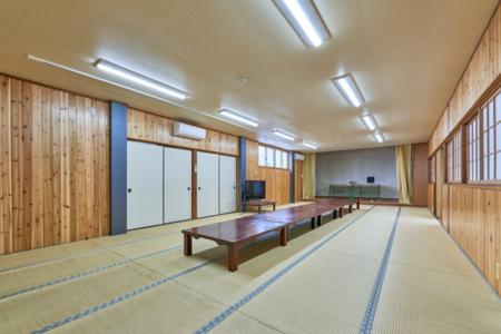 大広間36畳。会議室、寝室、イベント等に