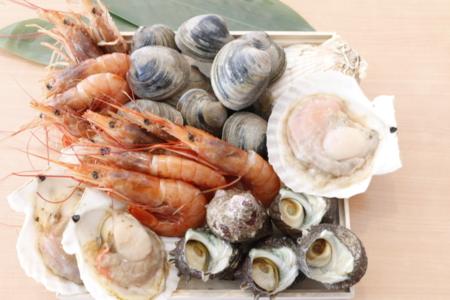 海鮮BBQセット(写真は1セット分)