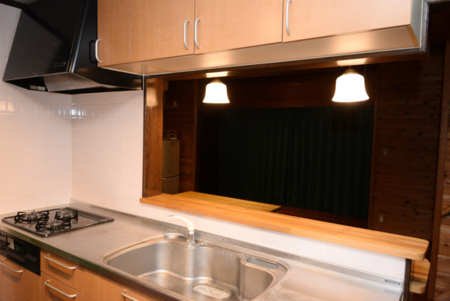 広いキッチンです