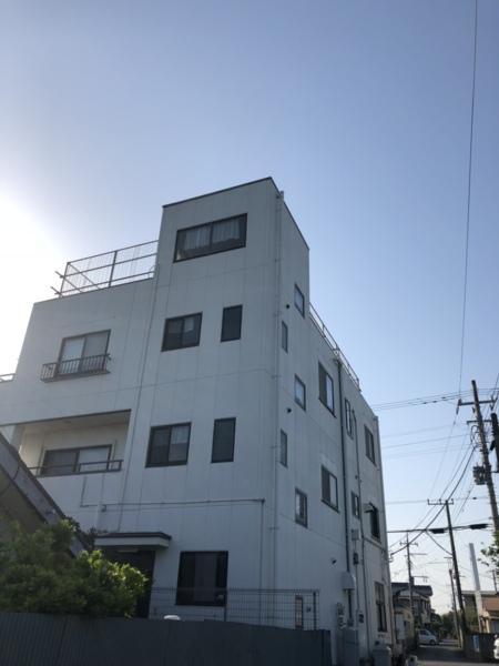 3階建て     屋上から九十九里浜一望