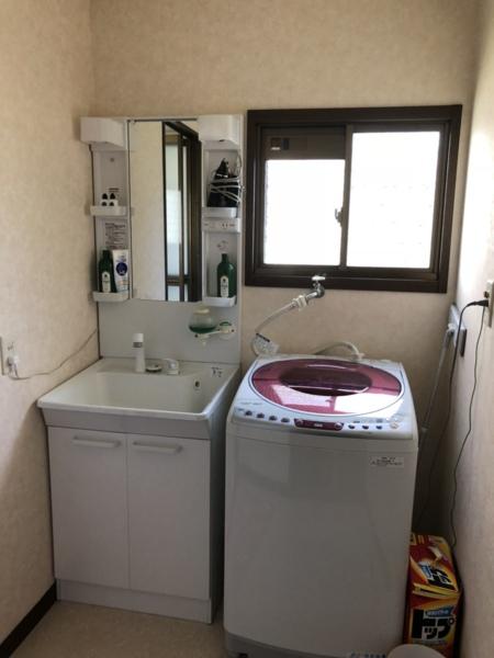 洗面所&洗濯機(洗剤備え付け)