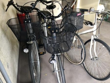 自転車4台無料でご利用いただけます。