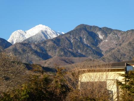 B&B白州と甲斐駒ヶ岳(2967m)