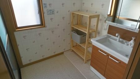 お風呂場【洗面台】