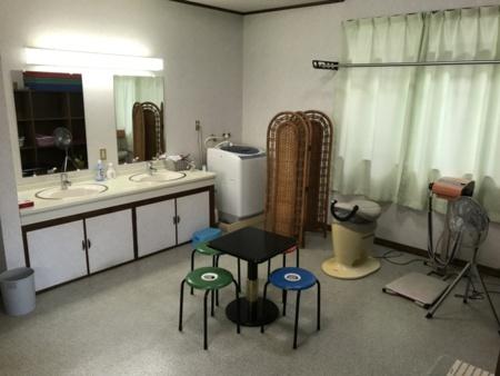 広い洗面脱衣室
