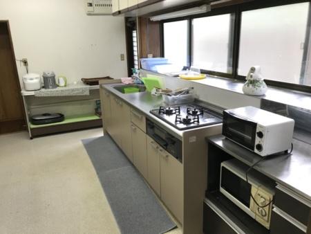 キッチン、調理用具一式ございます