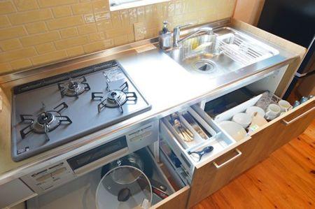 調理器具も準備