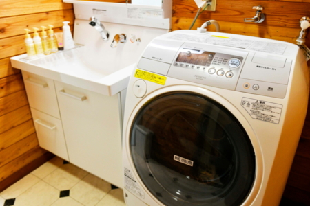 乾燥機付き洗濯機完備