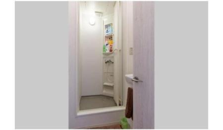 シャワールームと洗面所