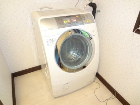ドラム式洗濯機設置