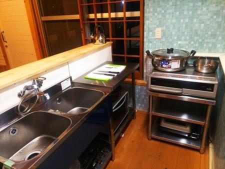 料理好きのグループも満足のキッチン2か所
