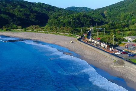 田曽白浜海岸