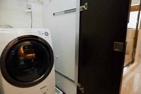 乾燥機付洗濯機をご用意