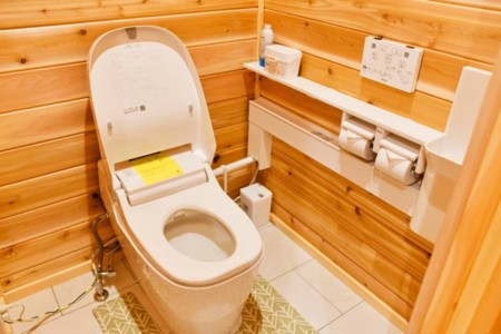 トイレはいつも清潔です