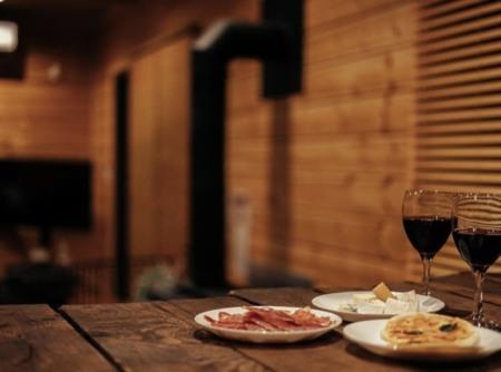 緑の香りに癒される寝室